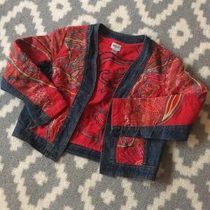 Chico's women's size 0 denim jacket